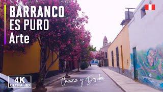 🔴 Barranco Lima Peru 2021, Jr Cajamarca (4k Ultra HD 60fps)