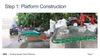 How It's Done: Floating Aquatic Plant Platforms