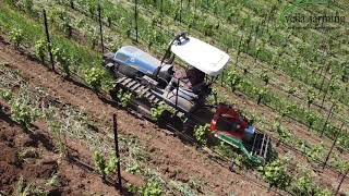 Shaker: Vibrating Subsoiler In Vineyard