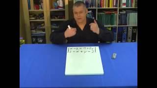 Lösen eines LGS mit dem Gleichsetzungsverfahren: Aufgabe Nr. 2, 1.Teil | Mathematik | Algebra