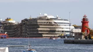 costa concordia salvage to use huge semi submersible vessel