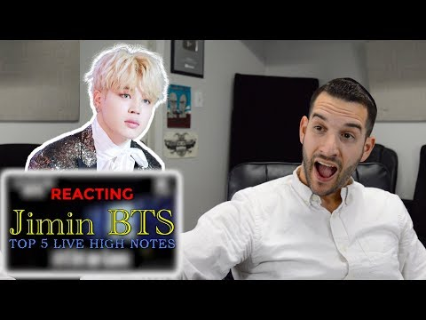 VOCAL COACH reacts to JIMIN from BTS Best High Notes
