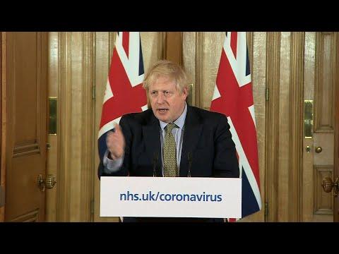 Boris Johnson says UK to close schools as coronavirus deaths rise   AFP