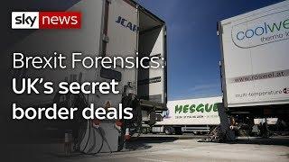 Brexit Forensics: Secret border deals