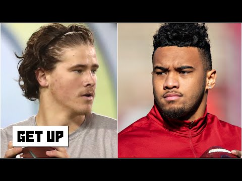 Why the Dolphins might draft Justin Herbert over Tua Tagovailoa | Get Up