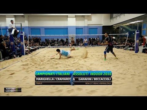 Marighella/Cramarossa Vs Garavini/Beccaccioli | Full Match | Finale Campionati Italiani Indoor 2016