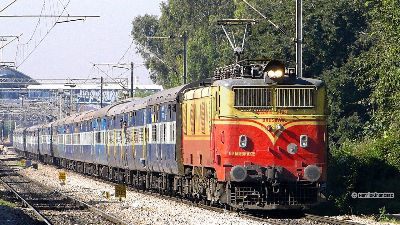 ENLIGHTENING WAM4 BHUBANESWAR EXRESS : INDIAN RAILWAYS
