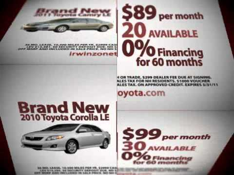 Vehicle Buyback Program NH | Irwin Toyota NH