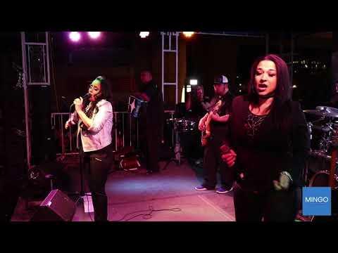Anjelique and Shelly Lares 2019 Tejano Music Awards Fan Fair
