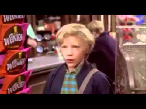 Willy Wonka And The Chocolate Factory - Charlie Finds A Golden Ticket (1971)
