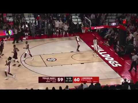 Men's Basketball: Highlights | A&M 61, Georgia 60