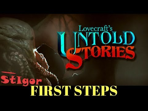 "LOVECRAFT""S UNTOLD STORIES - FIRST STEPS - GAMEPLAY 