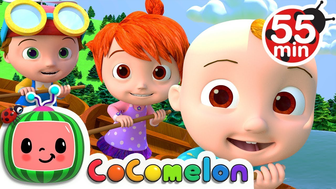 Row Row Row Your Boat | +More Nursery Rhymes & Kids Songs - CoCoMelon