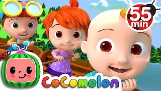 Row Row Row Your Boat | +More Nursery Rhymes \u0026 Kids Songs - CoCoMelon