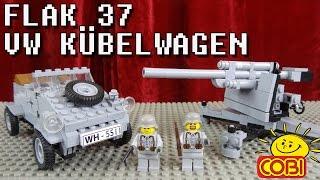 """""""COBI 88mm FLUGABWEHRKANONE FLAK 37 + VW KÜBELWAGEN TYP 82"""" -Vorstellung"""