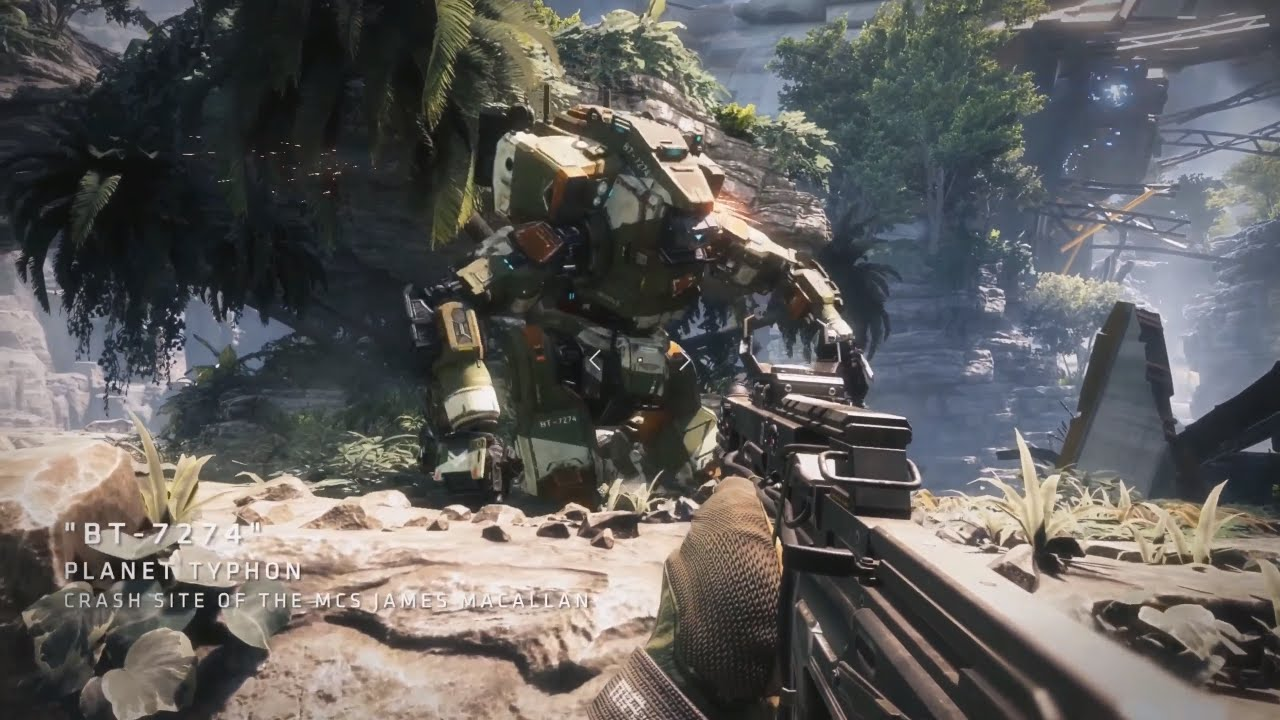TITANFALL 2 Single Player Gameplay - YouTube