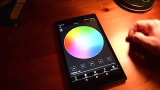 Magic Blue - Bluetooth RGB-LED-Lampe