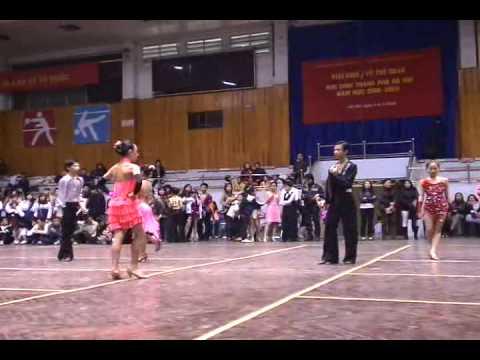 HKPD 2009 - Thiếu Niên 3 Điệu - ChaCha  Rumba Jive