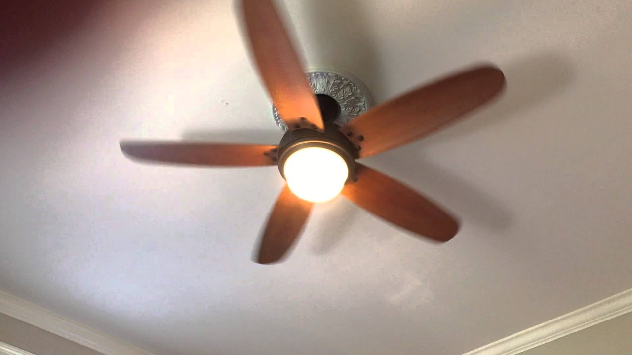 Breezemore 56 in. Mediterranean Bronze Indoor Ceiling Fan - YouTube