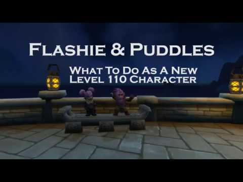 What To Do As A New Level 110 Character in World of Warcraft