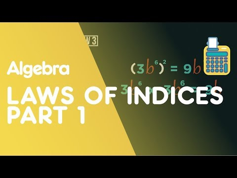 Laws of Indices - Part 1 | Algebra | Maths | FuseSchool