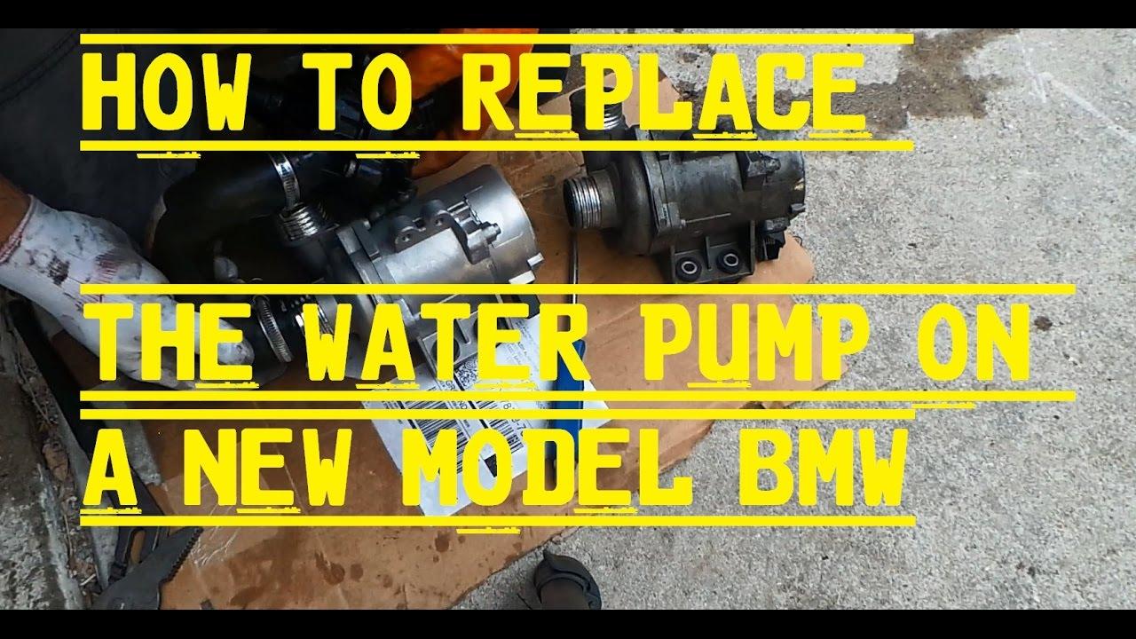 2008 bmw 328xi water pump