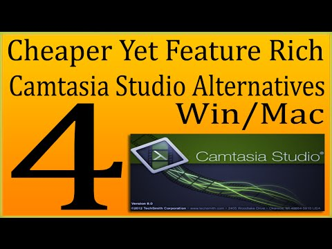 4 Best Cheaper Than Camtasia Studio Alternatives For Win/Mac And Professionals
