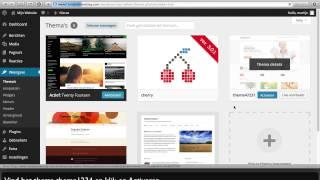 WordPress Theme met Cherry Framework installeren