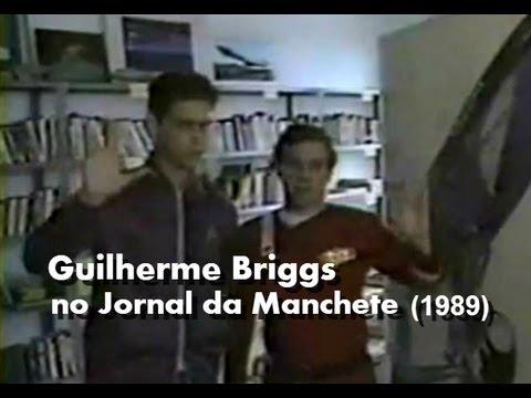 Guilherme Briggs no Jornal da Manchete (1989)