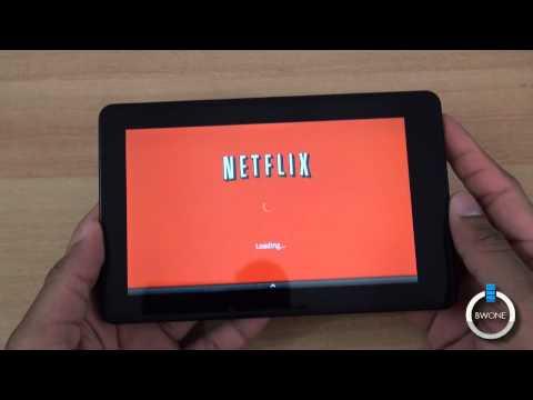 Netflix On The Amazon Kindle Fire  BWOne.com