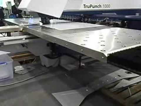 Punching Machine For Sheet Metal Youtube