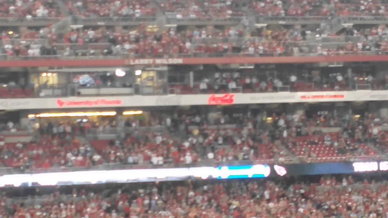 Arizona Cardinals Ring Of Honor Seats Good