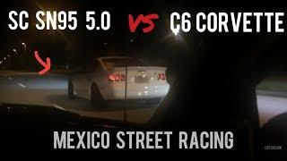 Terminator vs SC SN95 Mustang 5.0 vs C6 Corvette, 6th Gen Camaro SS vs 5th Gen, Evo, 5.0, C6