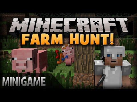 Türk Hacker! - Minecraft: Farm Hunt - Bölüm 2