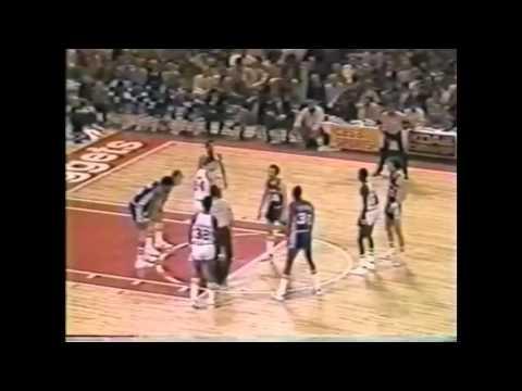 Bobby Jones great defense, 76ers vs Nuggets, 1977-78