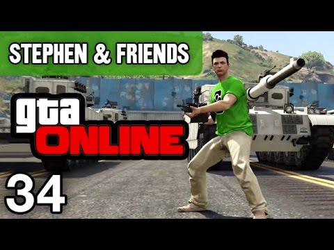 """GTA Online #34 - """"WORLD WAR 3"""""""