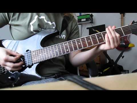 As I Lay Dying - A Greater Foundation (Guitar Cover)