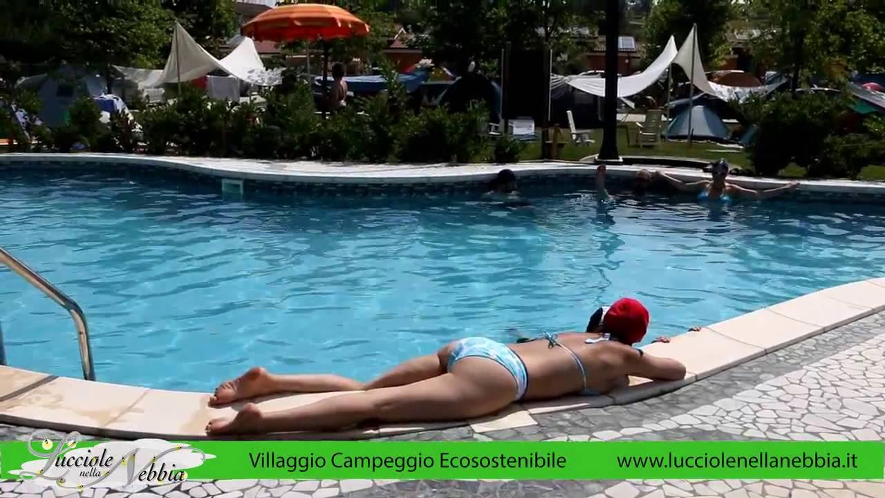 Sympathisch Pool Salzwasser Referenz Von Auf Camping Lucciole Nella Nebbia - Italien