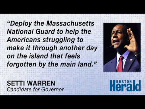 Setti Warren calls out Charlie Baker on lack of Massachusetts aid in Puerto Rico
