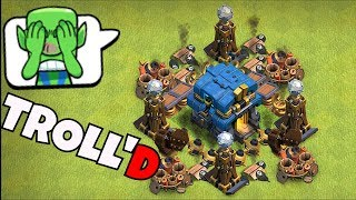 "I'm With my TROLL'D bros!! ""Clash Of Clans"" MAZE WAR!!"