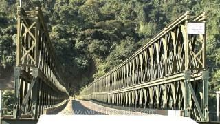Chubi Bridge In Nagaland - Second Longest Bailey Bridge In Asia!?