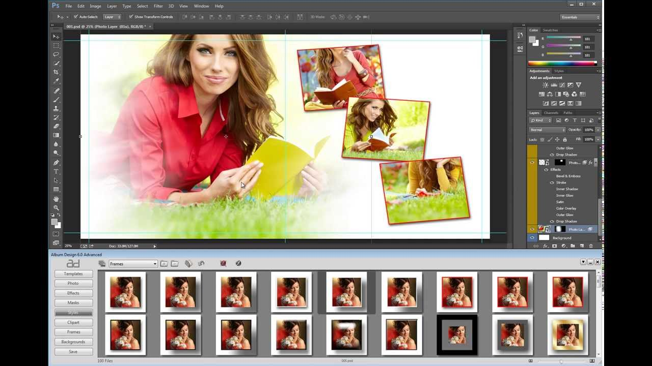 Album design 6 autoalbum autotemplate albumds smart for Album ds templates
