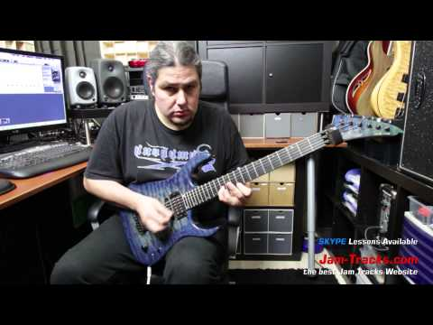 Paul Gilbert Style Lick Part1   Lick Of The Week 135
