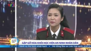 Hoa khôi Học viện An ninh nhân dân Trương Thị Huệ Nhi