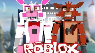 Roblox Adventures / FUNTIME FOXY TIME TRAVELS?! / Animatronic World