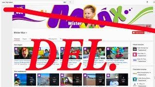 004 Как заблокировать канал мистер Макс в Ютубе или Жизнь в тени блогеров. Психология интернета.