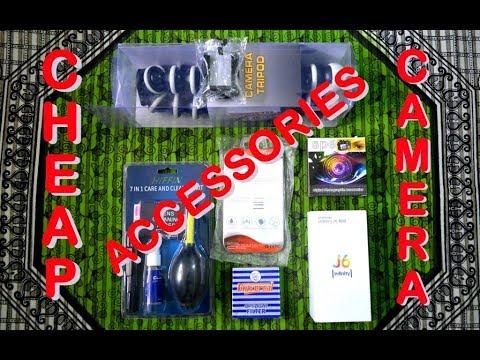 Cheap Camera Accessories in Kolkata | Gorilla Tripod, UV Lens Filter, Hood, Cleaner | 29-06-2018