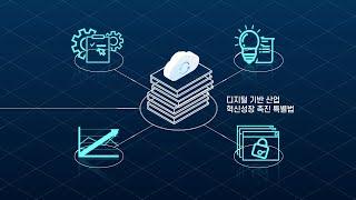 「디지털 기반 산업 혁신성장 전략」 소개 영상