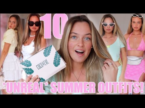 10 UNREAL SUMMER OUTFITS😍~ Grwm   My Healthy Hair Routine😇💕