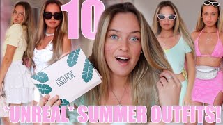 10 UNREAL SUMMER OUTFITS😍~ Grwm + My Healthy Hair Routine😇💕